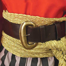 Wide Pirate Belt