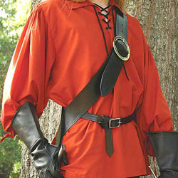 Left Handed European Baldric - Black