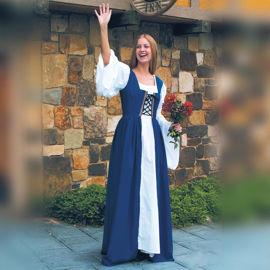 Blue Fair Maiden's Overdress