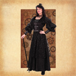 Empire Woman's Gown