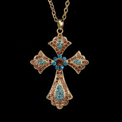 Medici Cross Necklace
