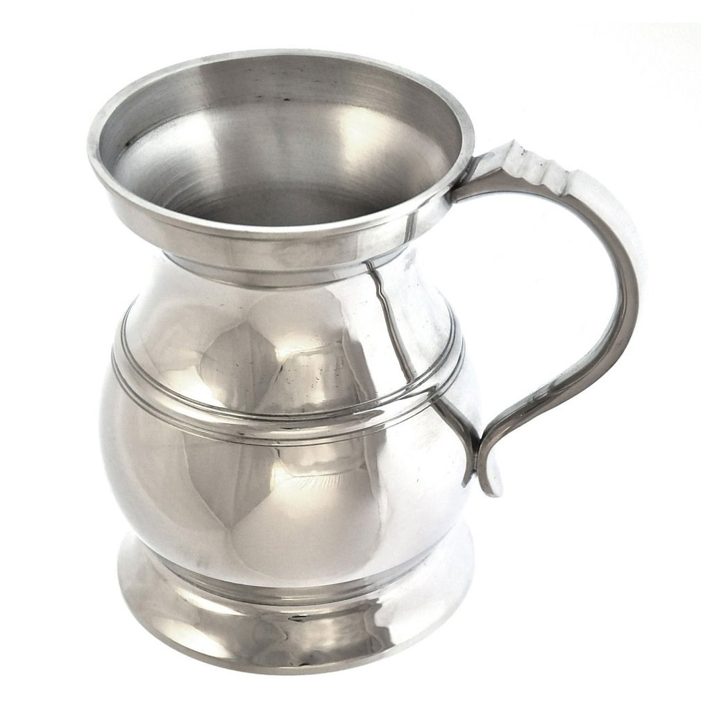 Baluster Pewter Tankard - Made in England