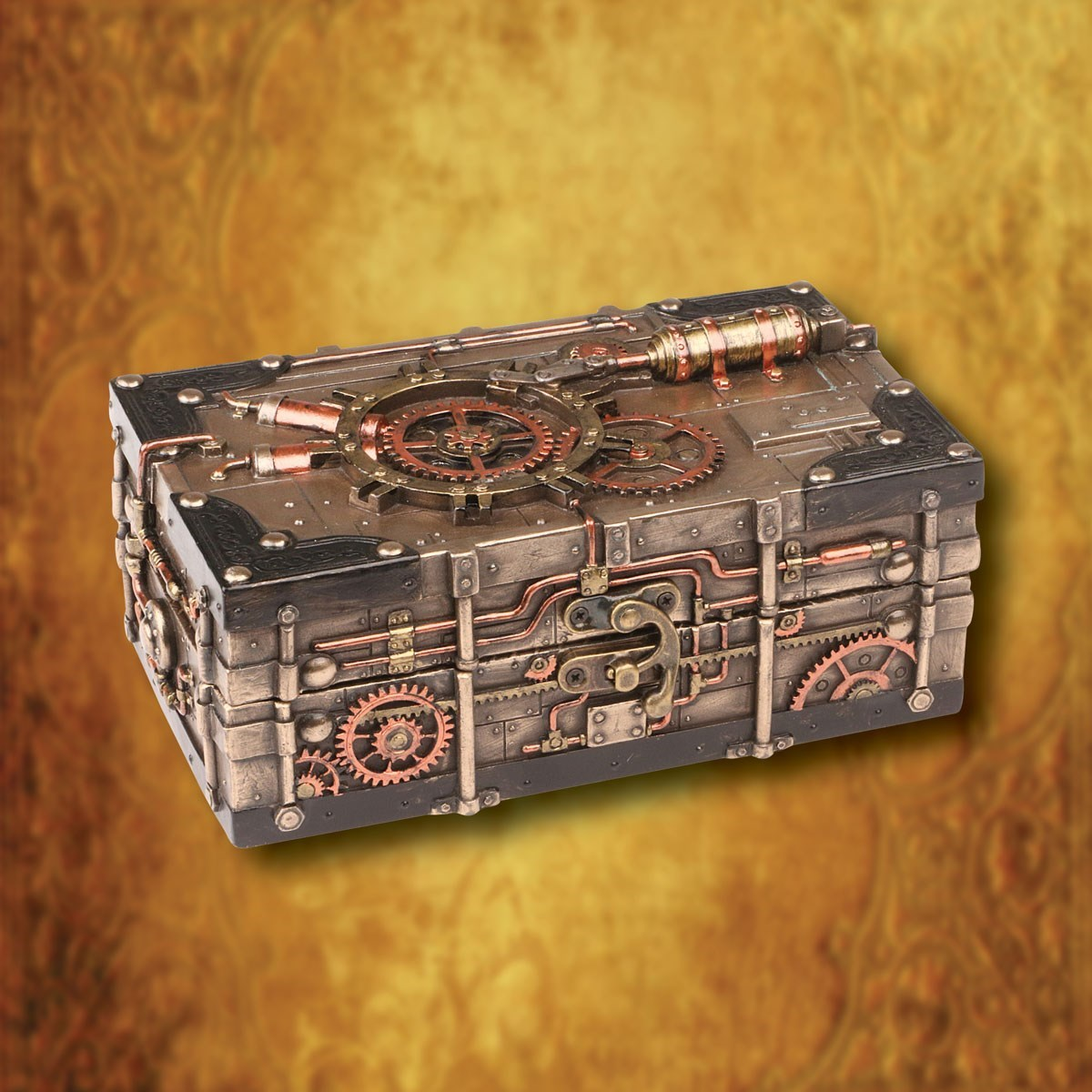 Clockwork Jewelry Box