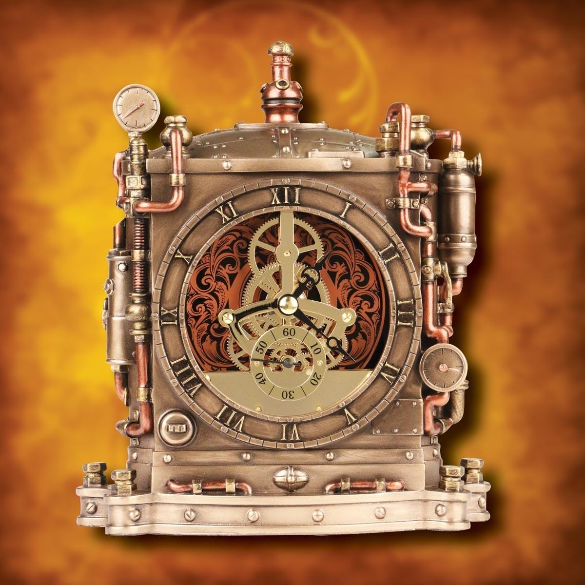 Steampunk Grand Machine Clock