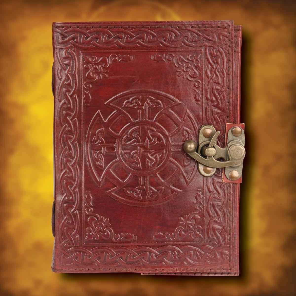 Celtic Cross Journal Leather Journal