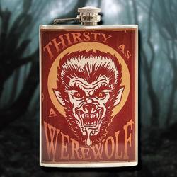 Stainless Steel Werewolf Flask