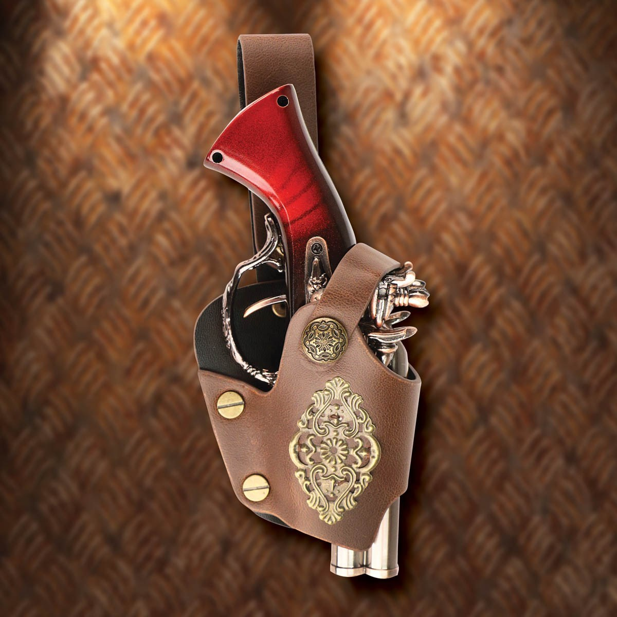 Steampunk Gambler's Derringer Lighter