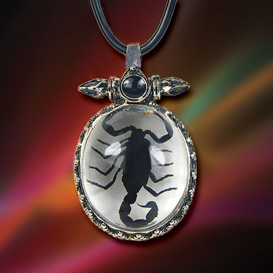 Victorian Scorpion Pendant