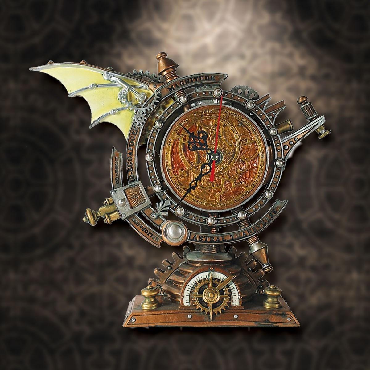 The Chronometer Steampunk Clock