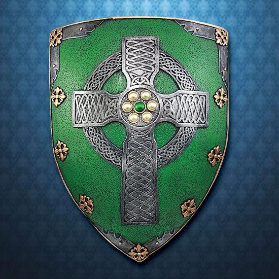 Celtic Cross Shield Plaque