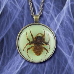 Spider Glow Pendant