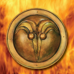 Cimmerian Shield Decorative Plaque