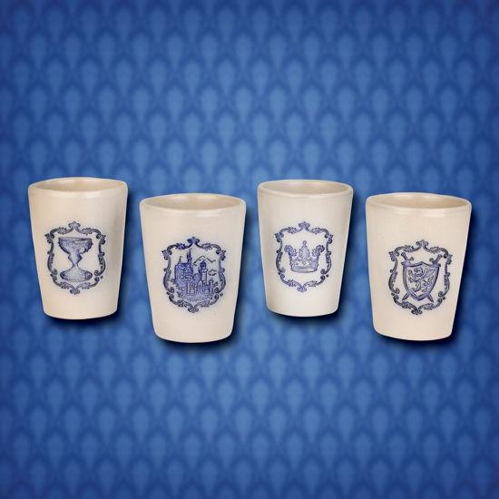 Camelot Salt Glazed Tasting Cups