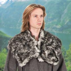 Wolf Fur Mantle