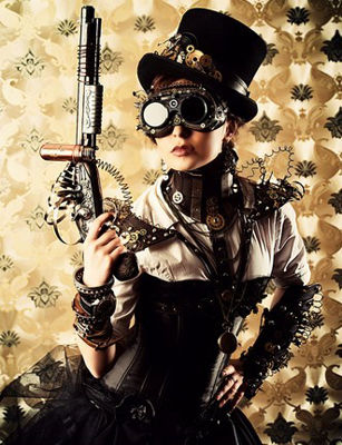 Get in Gear with Steampunk Costumes for Halloween!
