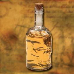 Skull Glass Bottle Decanter