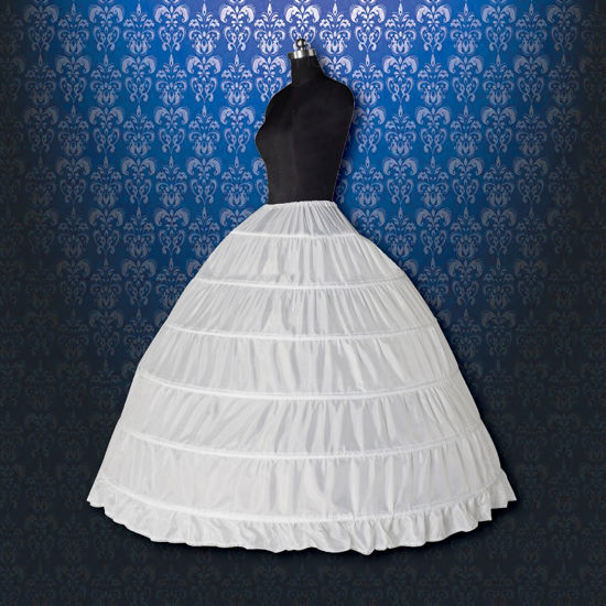6 Tier Hoop Skirt