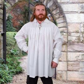 White Cotton Swordsman's Shirt
