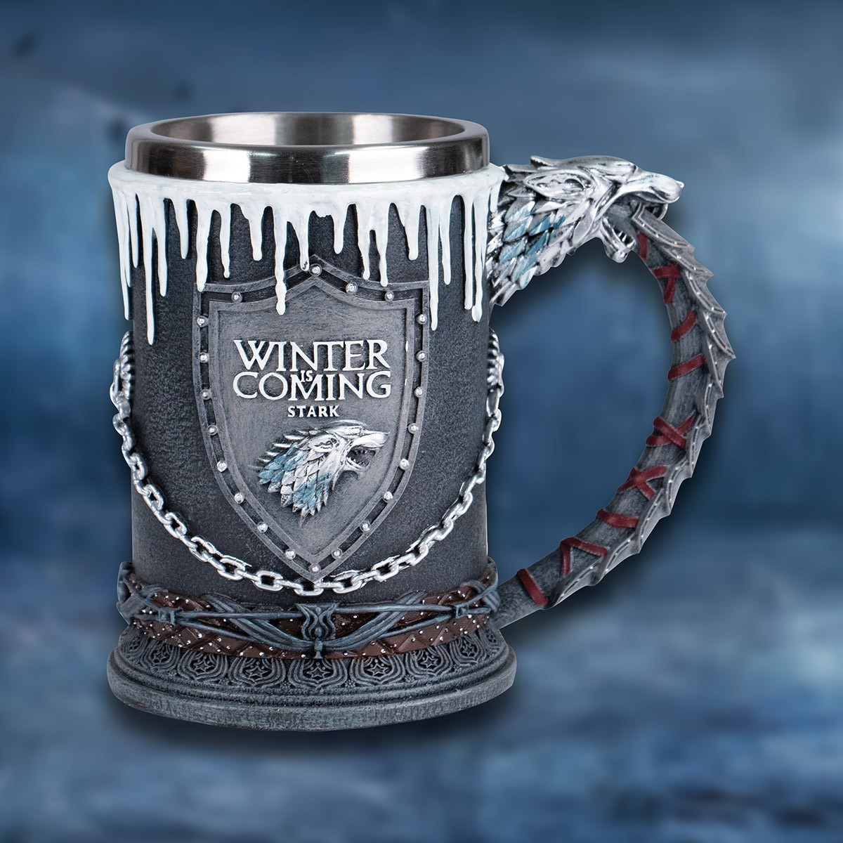 Game of Thrones Winter is Coming Stark Tankard