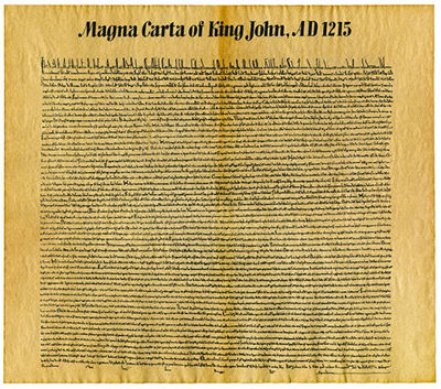 The Magna Carta turns 803!