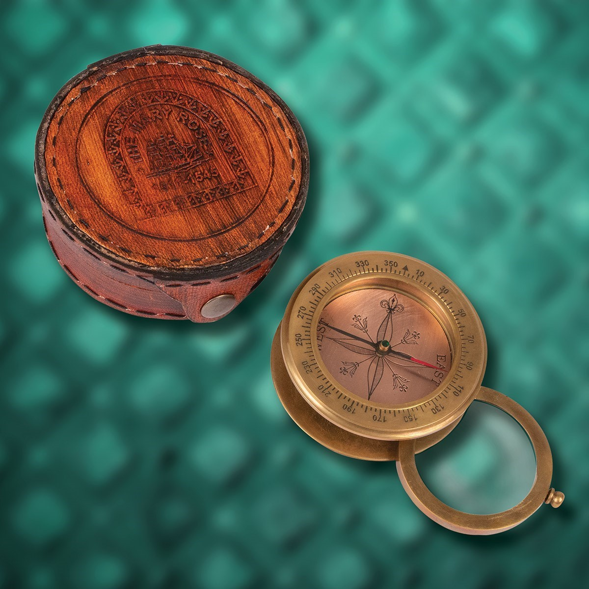 Mary Rose Compass Magnifier