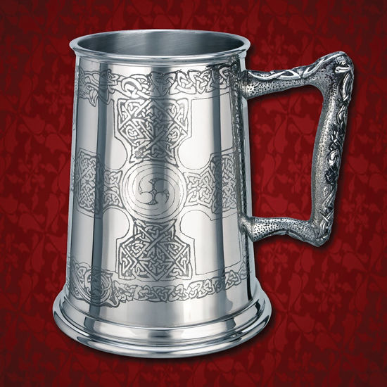Celtic Cross Tir-Na-Tog Tankard