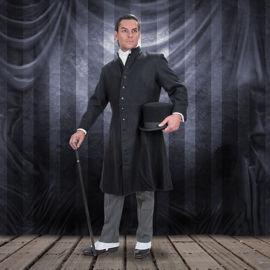 Men's Black London Frock Coat