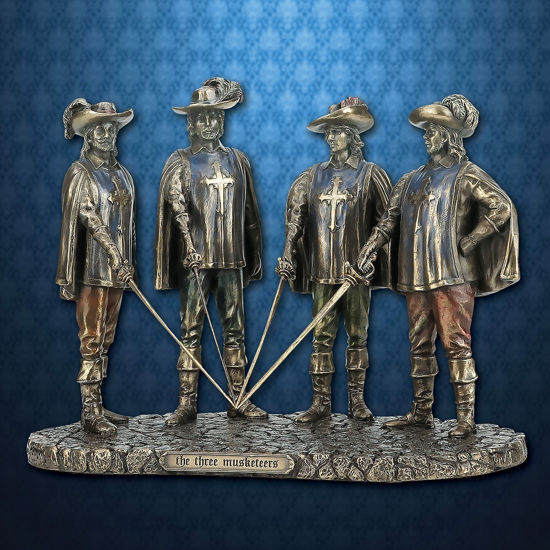 Three Musketeers Statue