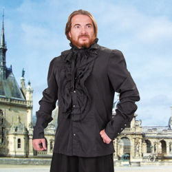 Black Guardsman Renaissance Shirt