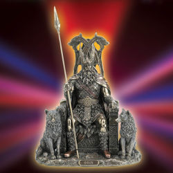 Odin's Throne Statue
