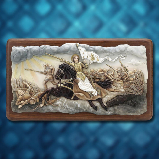 St. Joan of Arc War Plaque