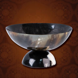 Horn Footed Serving Bowl