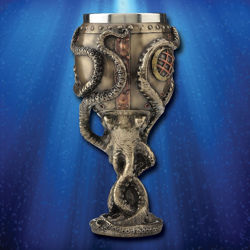 Steampunk Octopus Chalice