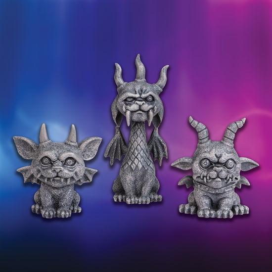 Shorty Gargoyles (set of 3)