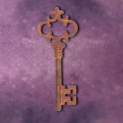 Victorian Iron Key