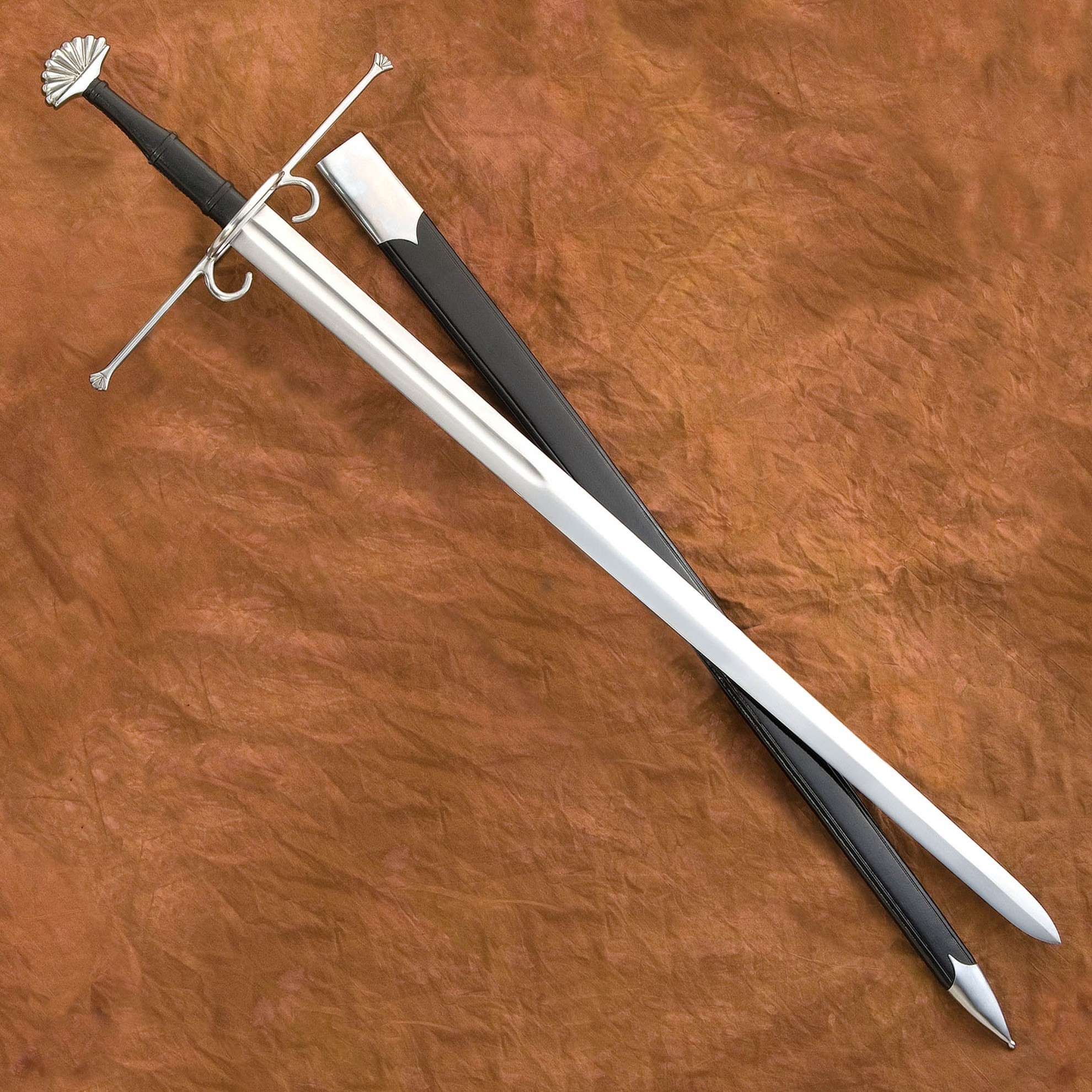 Landsknecht War Sword with Scabbard