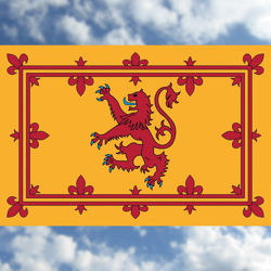 Scottish Lion Flag