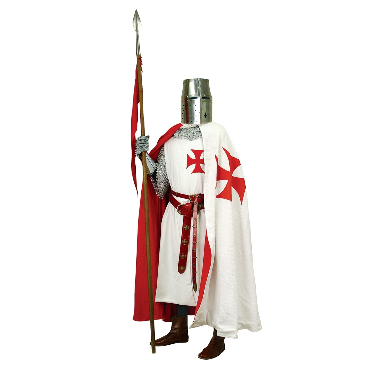 Templar Tunic with Templar Cape