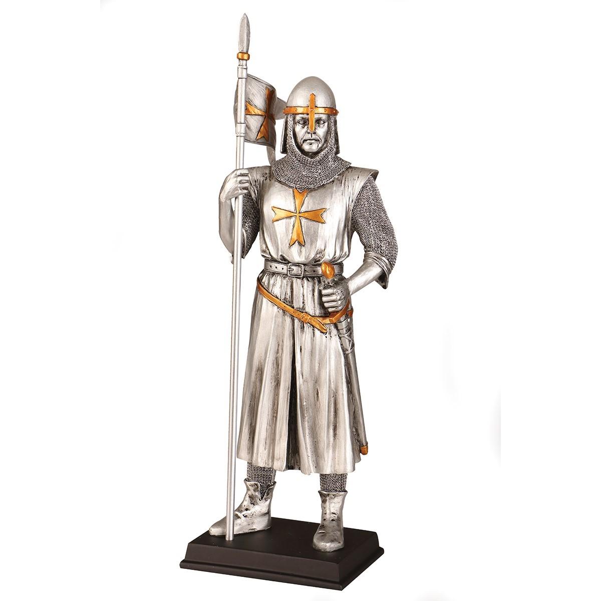 Early Templar Knight Statue