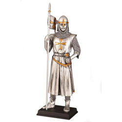 Early Templar Knight Statue