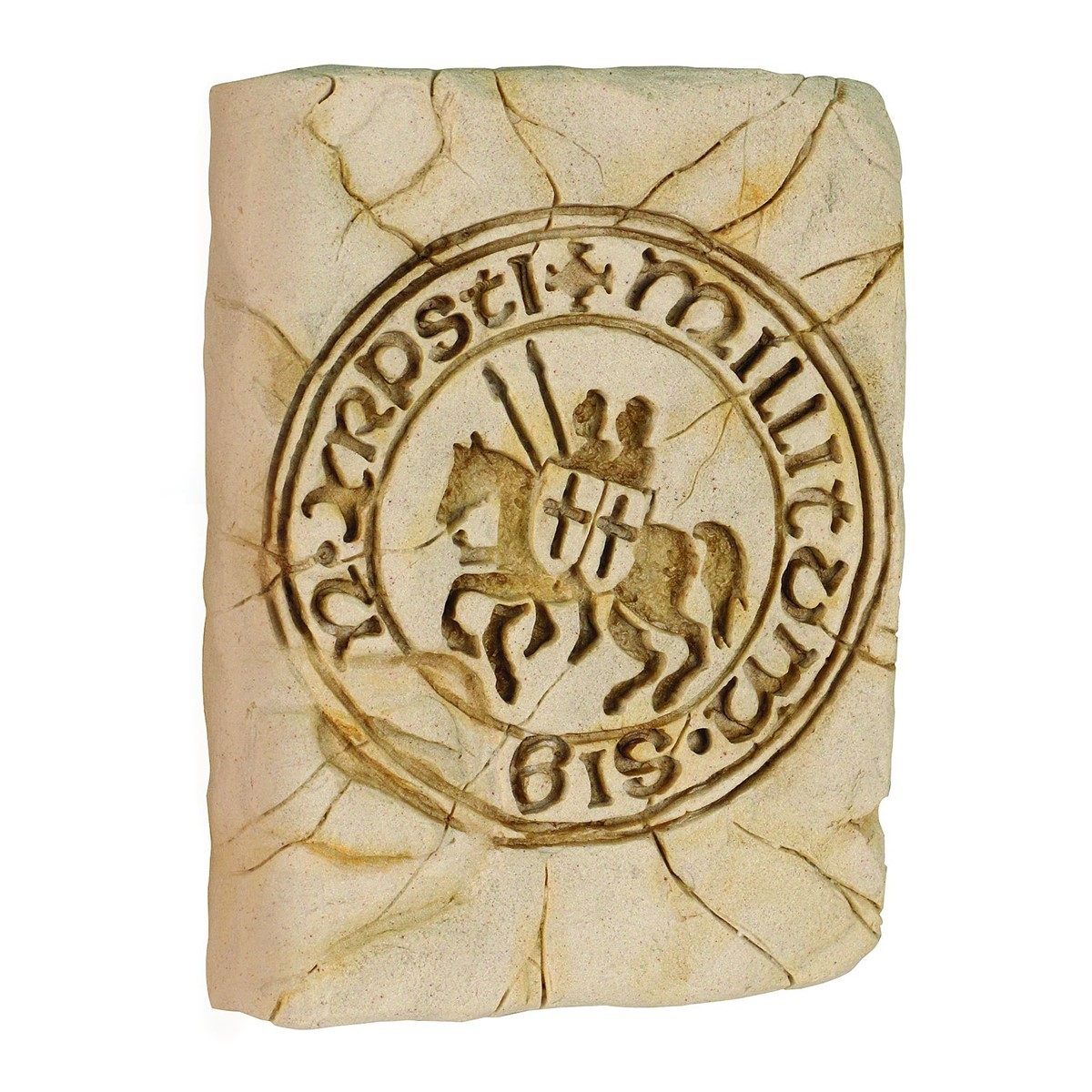 Seal of the Knights Templar Wall Plaque