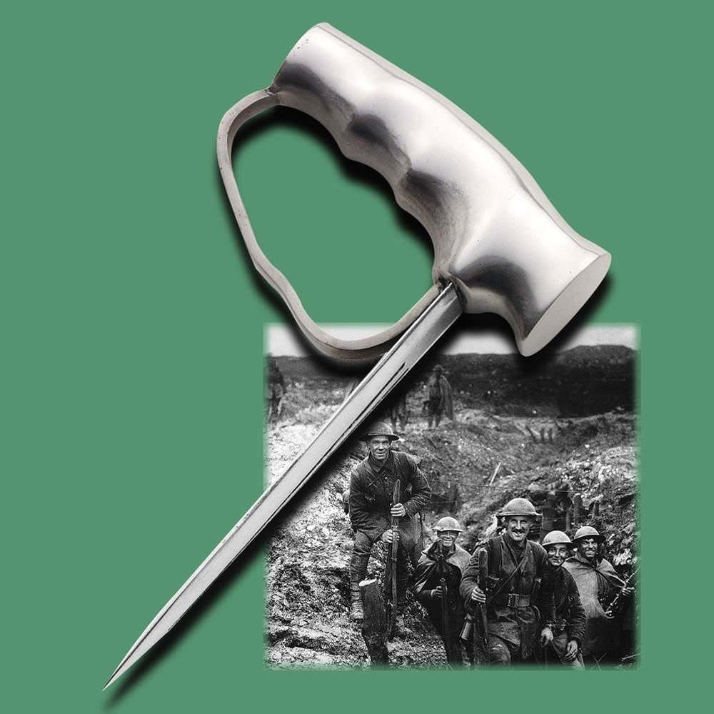 Picture of British WWI Robbins of Dudley Push Dagger