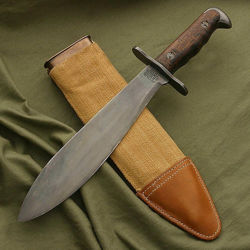 Picture of US Model 1917 Bolo Knife with Scabbard