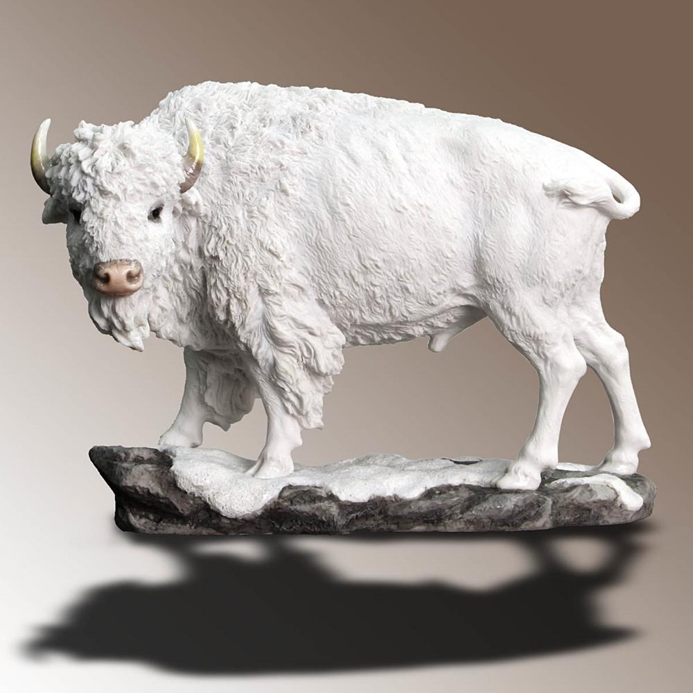 White Buffalo Statue
