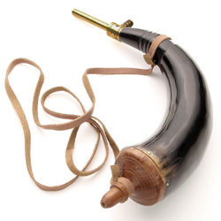 Picture of Powder Horn With Brass Powder Dispenser