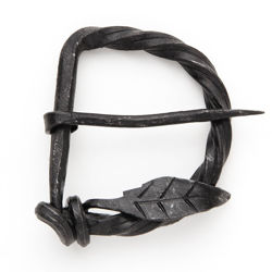Picture of Forged Iron Locksley Belt Buckle