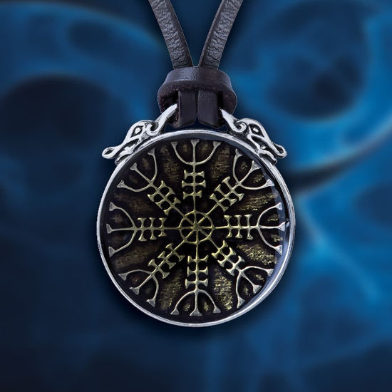 Picture of Helm of Awe Pendant Necklace