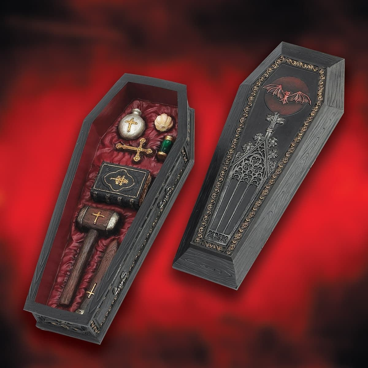 Picture of Vampire Slayer Coffin Kit Trinket Box