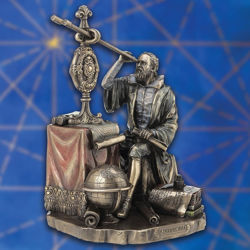 Picture of Galileo Galilei Statue