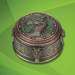 Picture of Celtic Dragon Trinket Box